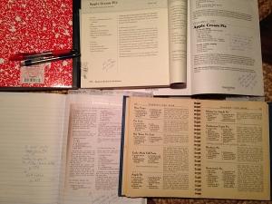Old cookbooks